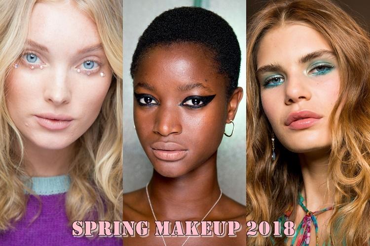 Ανοιξιάτικο μακιγιάζ 2018