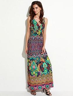 Γυναικείο boho φόρεμα