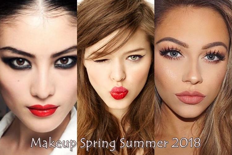 Μακιγιάζ άνοιξη καλοκαίρι 2018:Δες τα 4 πιο όμορφα make up look
