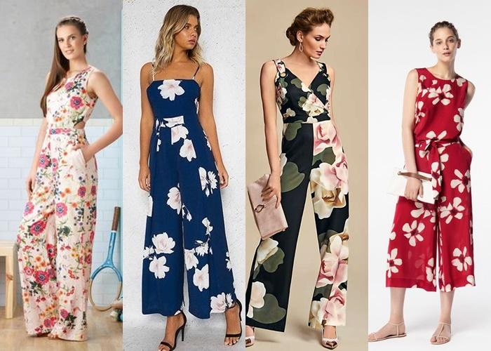 Ολόσωμη φόρμα-Prints, floral και έντονα μοτίβο