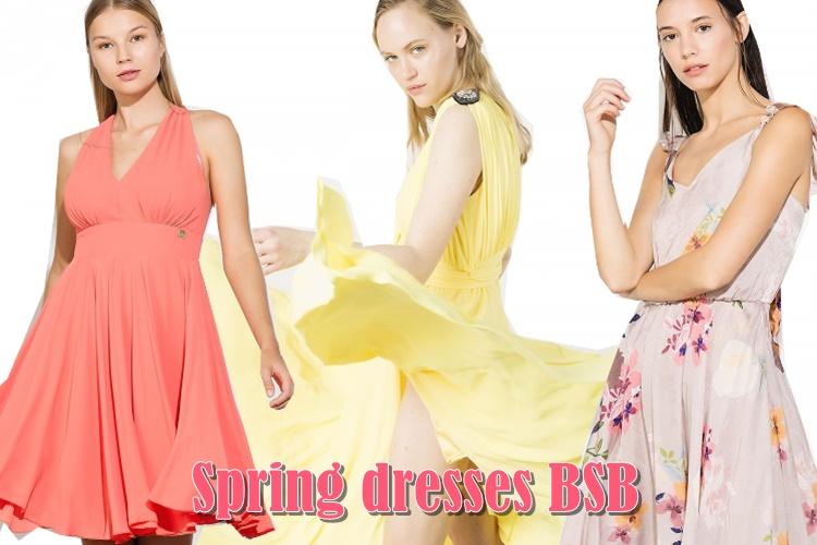 Ανοιξιάτικα φορέματα BSB