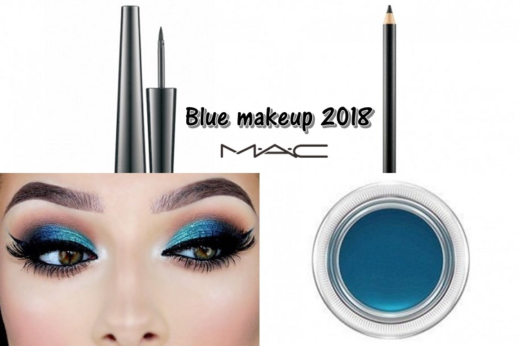 Μπλε μακιγιάζ 2018