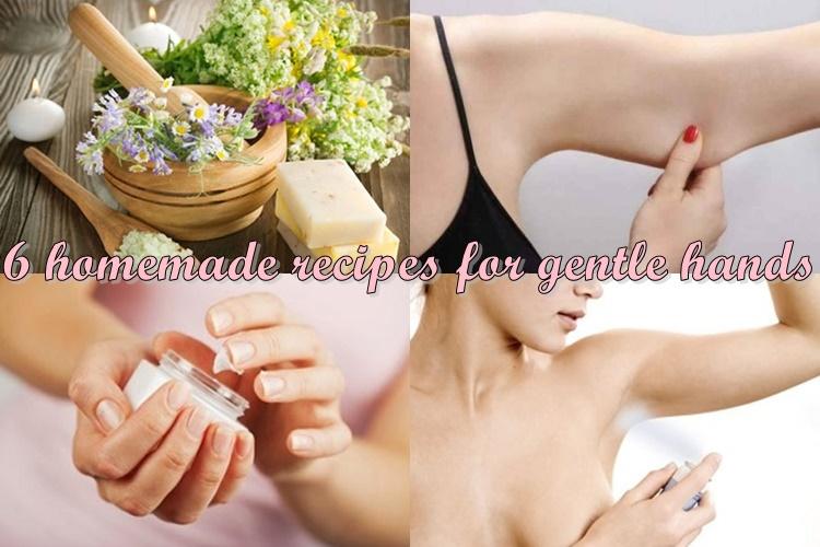 σπιτικές συνταγές για απαλά χέρια