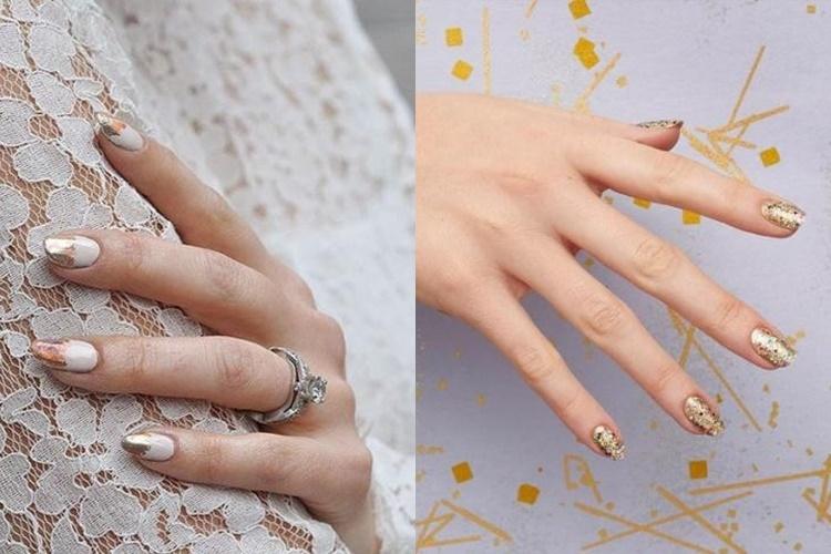Bridal μανικιούρ για τις πιο κομψές νύφες του καλοκαιριού