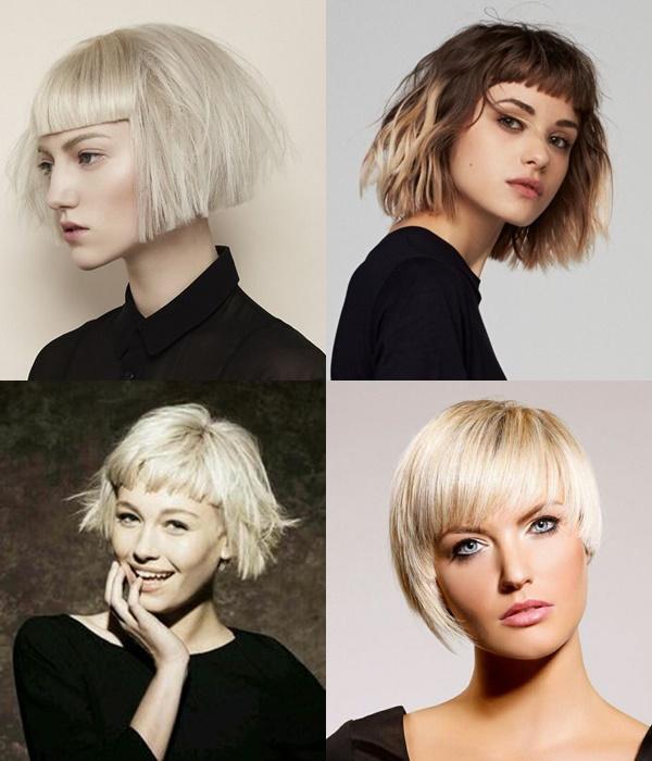 Γυναίκεια κουρέματα 2018:Μαλλιά με αφέλειες