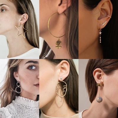 Πως συνδυάζονται τα κοσμήματα:Σκουλαρίκια