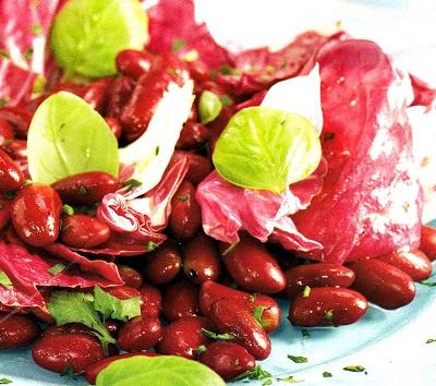Κόκκινα φασόλια με λαχανικά