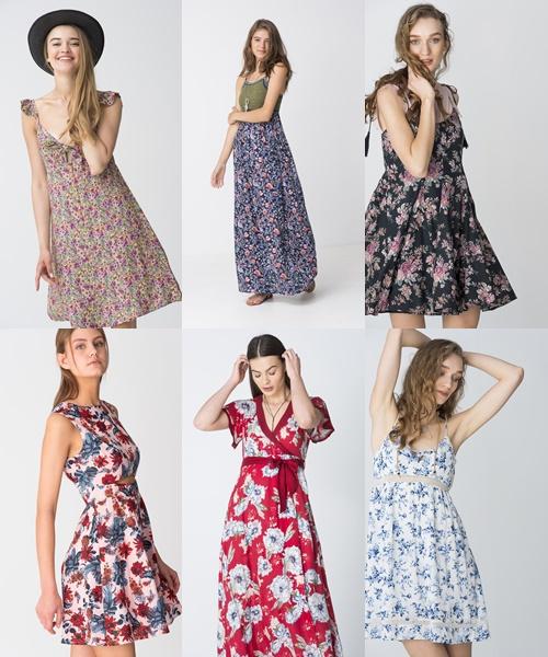 Floral φορέματα attrattivo