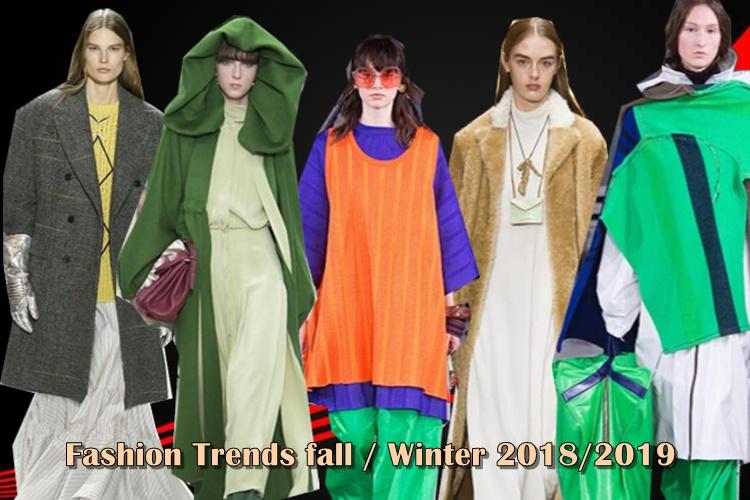 Τάσεις μόδας Φθινόπωρο/Χειμώνα 2018/2019