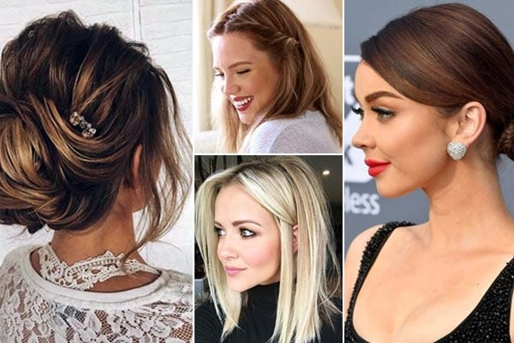 χτενίσματα για μεσαία μαλλιά