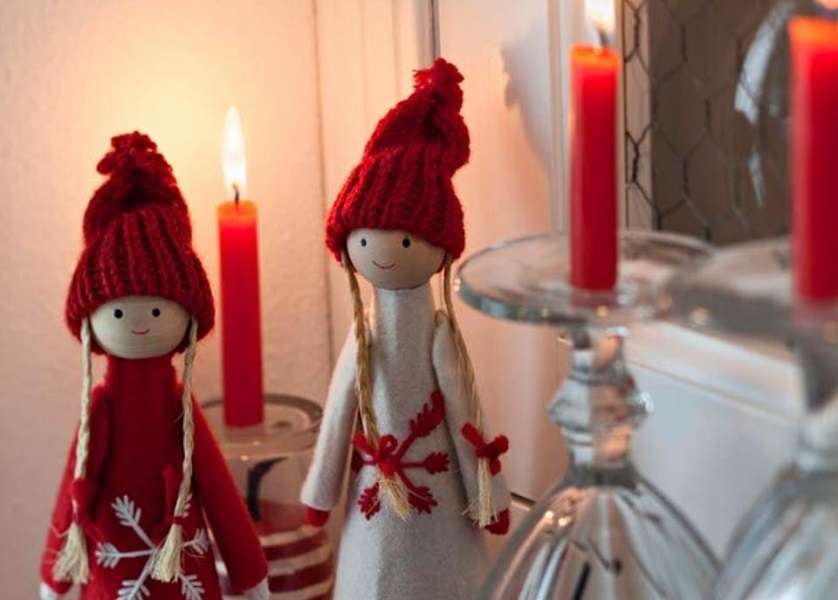 Red Christmas Deco ideas στο απόλυτο χρώμα των εορτών