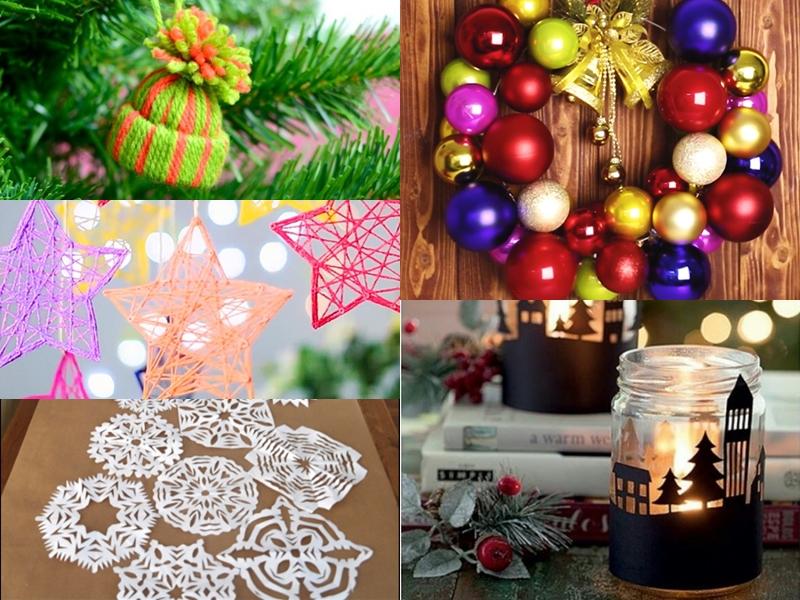 5 Χριστουγεννιάτικες κατασκευές που μπορείς να κάνεις σε 30 λεπτά