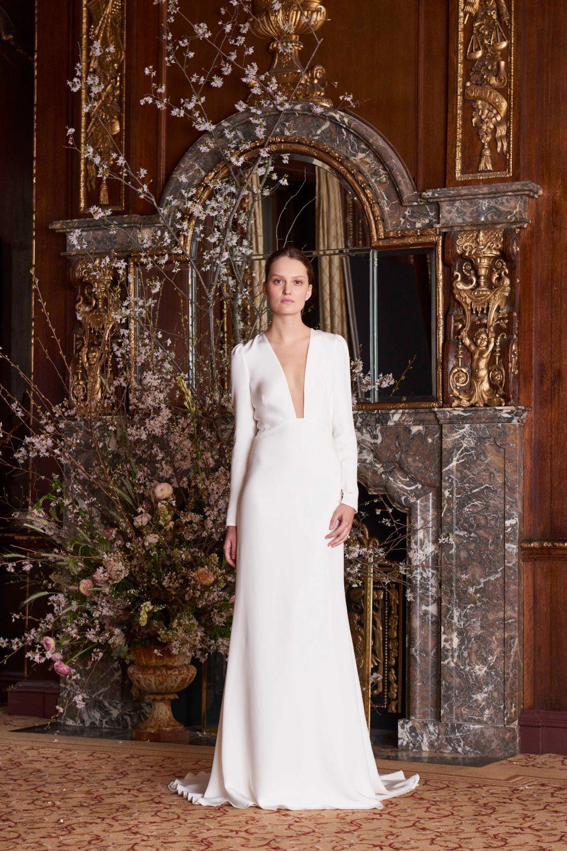 f4acd7bada63 Bridal Spring 2019  Τα γαμήλια φορέματα για την φετινή άνοιξη είναι ...
