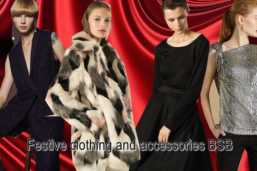 Γιορτινά ρούχα και αξεσουάρ BSB για να δημιουργήσεις τα πιο glam Iooks