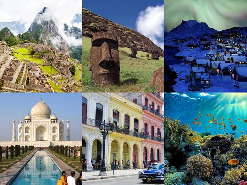 6 μέρη που πρέπει να επισκεφτείς πριν εξαφανιστούν!