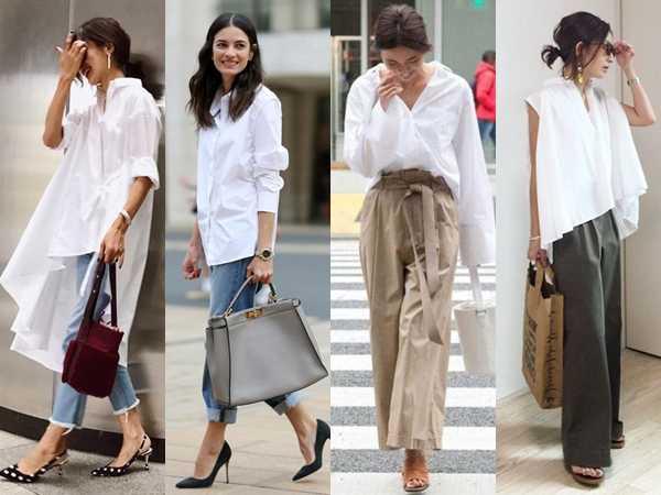 5 Τρόποι να συνδυάσεις το λευκό πουκάμισο