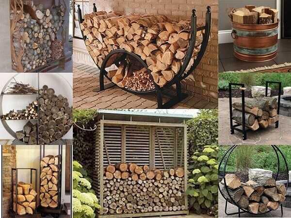 Οργάνωση και διακόσμηση σπιτιού για τα ξύλα στο τζάκι