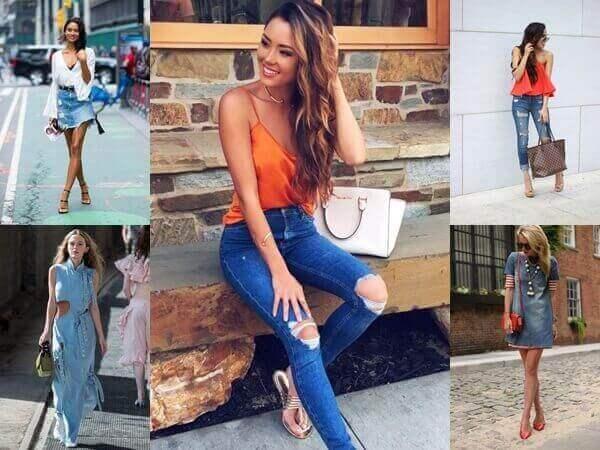 32 casual jeans outfit για την άνοιξη και το καλοκαίρι!
