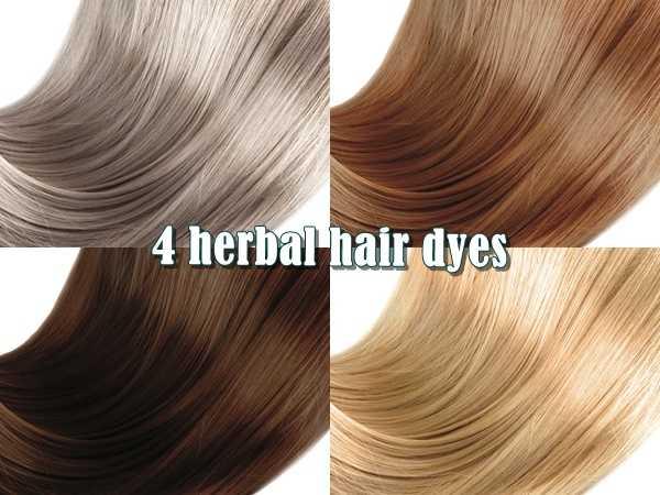 4 φυτικές βαφές μαλλιών με βότανα για λαμπερά μαλλιά!