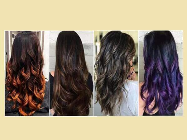 12 Ιδέες για ανταύγειες σε μαύρα μαλλιά!