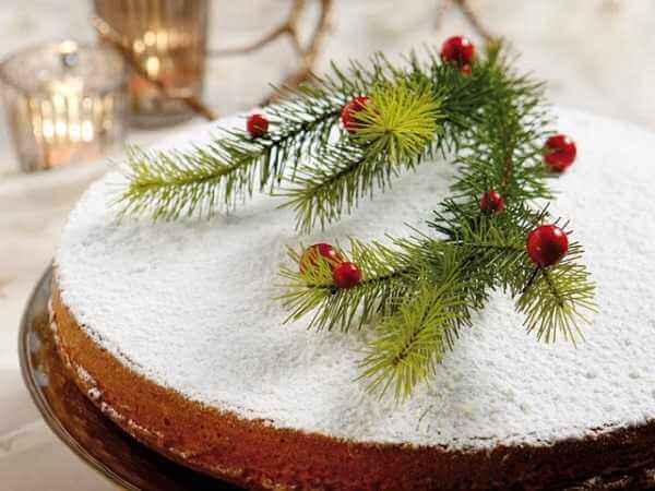 Κέικ Χριστουγέννων με άρωμα από λεμόνι και ρούμι!