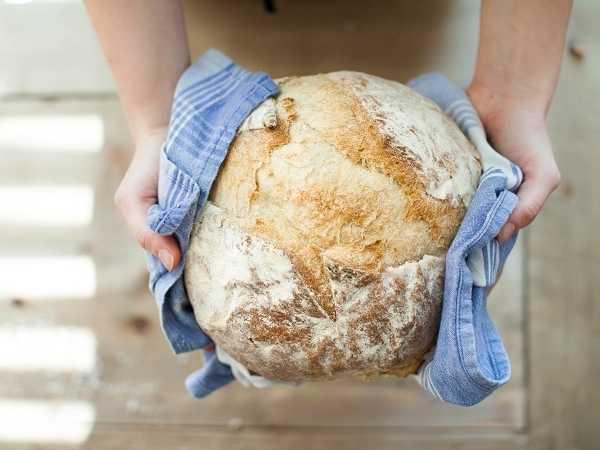 Χωριάτικο ψωμί με μαγιά : Βήμα Βήμα όλη η διαδικασία