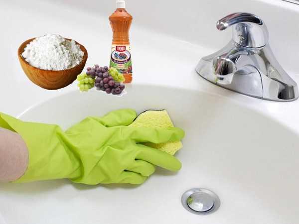 Καθαριότητα μπάνιου με σόδα και ξίδι!