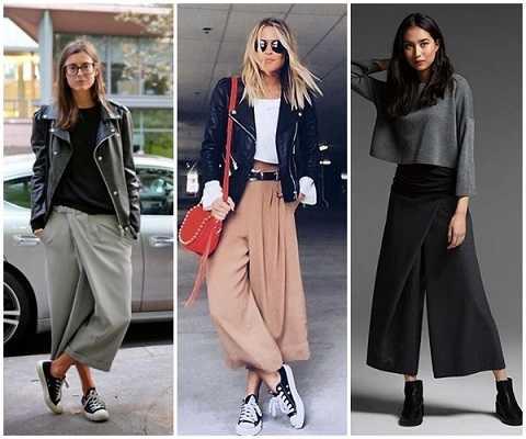 Χειμερινά outfits 2020 με jupe culotte-1