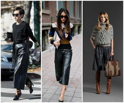 Χειμερινά outfits 2020 με jupe culotte-2