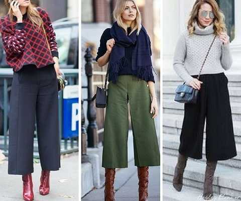 outfits με jupe culotte-3