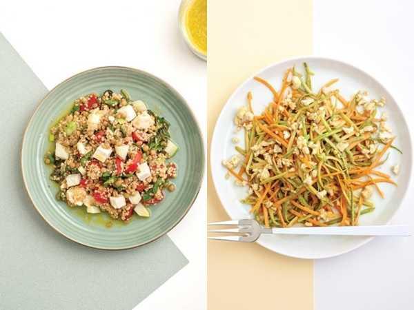 2 συνταγές για χορτοφάγους για υγειά και ενέργεια!