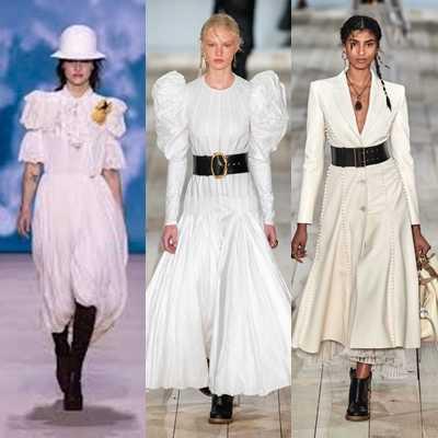 Λευκά φορέματα την Άνοιξη/Καλοκαίρι 2020