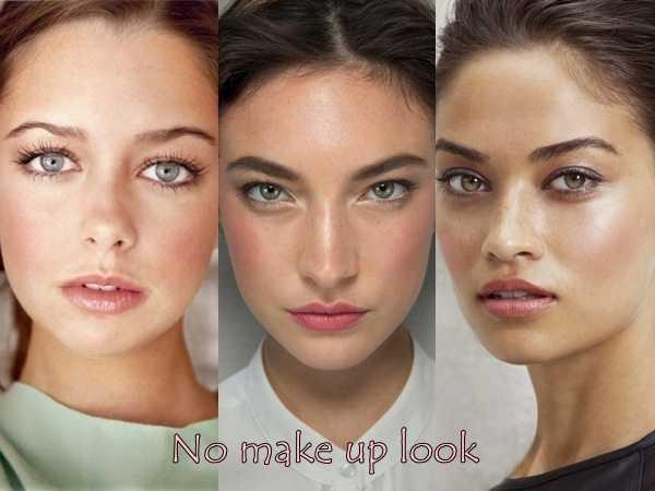 No make up look η νέα τάση στο μακιγιάζ!