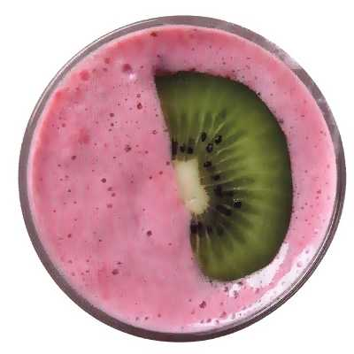 Smoothies με βατόμουρα και σπανάκι