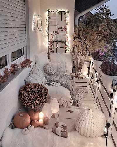 Επιλέξτε μαξιλάρια δαπέδου για το μπαλκόνι