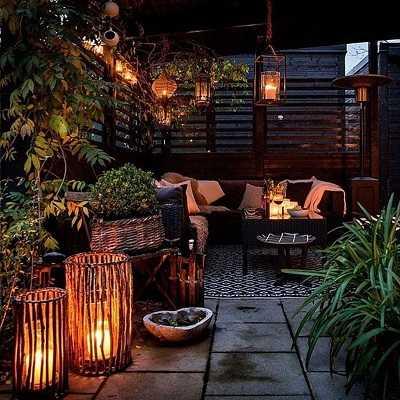 Φωτίστε το μπαλκόνι