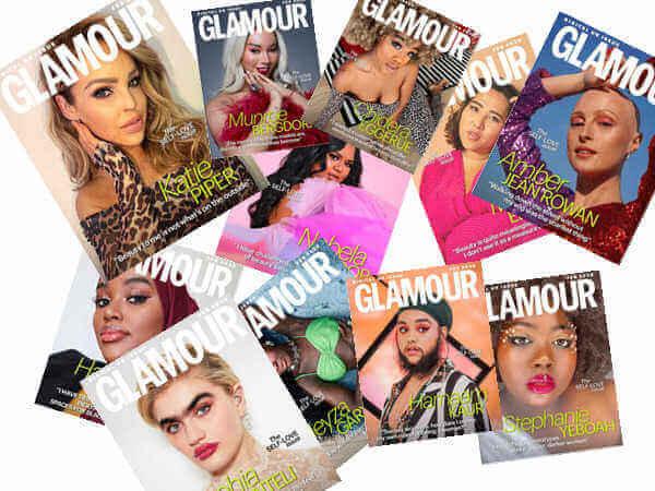 11 εξώφυλλα του Glamour με νέα πρότυπα ομορφιάς