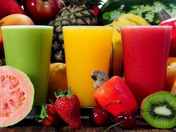 4 φρέσκοι χυμοί με φρούτα και λαχανικά για καλύτερη υγεία!