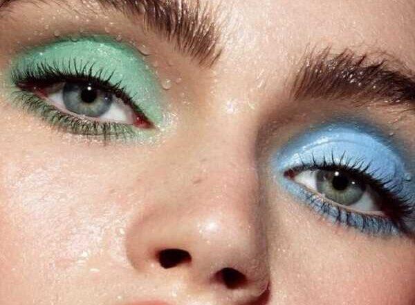 Παστέλ μακιγιάζ 2020 σε πράσινες και μπλε αποχρώσεις!
