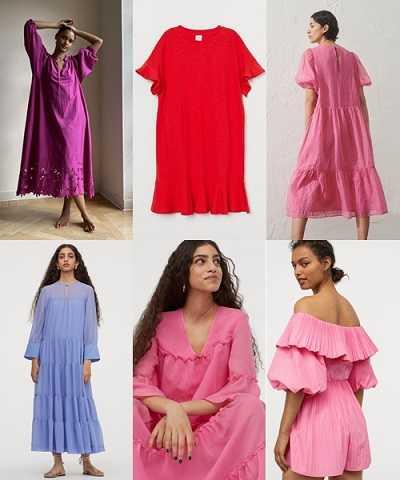 Ρούχα σε έντονα χρώματα