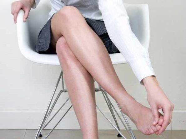 Ανακούφιση ποδιών με φυσικούς τρόπους!