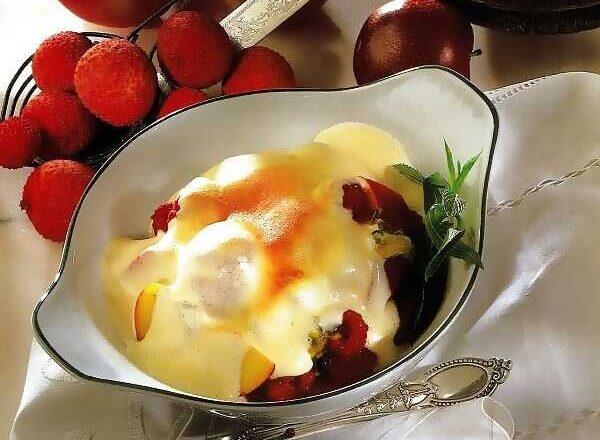 Γκρατιναρισμένα φρούτα στο φούρνο!