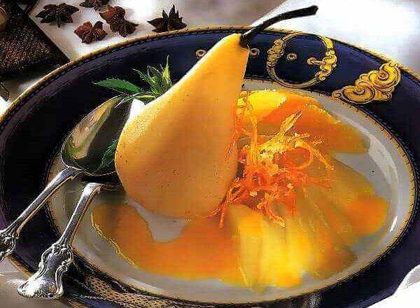 Αρωματισμένα αχλάδια με βούτυρο πορτοκαλιού!