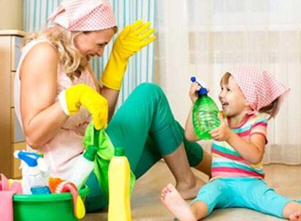 Παιδιά και σπίτι: Καθάρισε την ατμόσφαιρα φυσικά…
