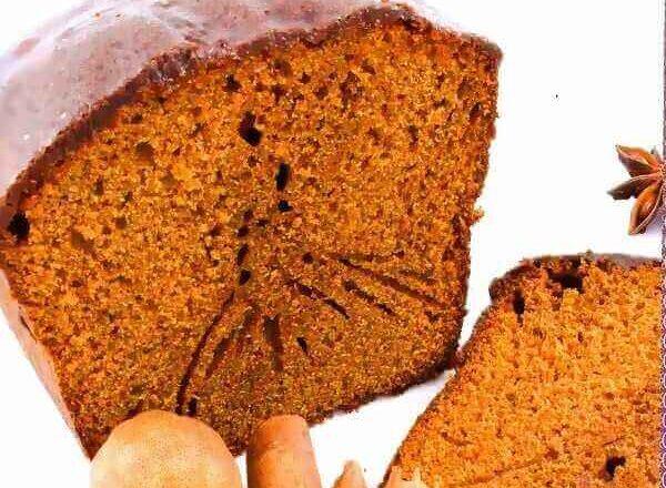 Γλυκό ψωμί με μπαχαρικά μακράς διάρκειας