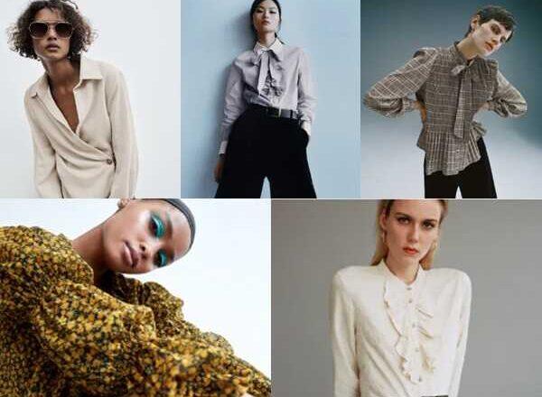 Γυναικεία πουκάμισα ZARA φθινόπωρο/χειμώνας 2020/2021
