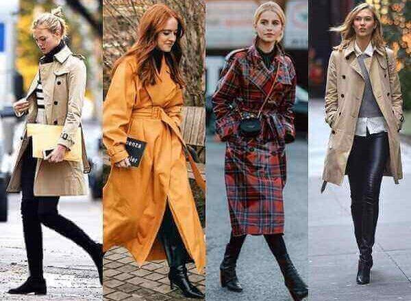 Καμπαρντίνα το χειμώνα: Δες πως θα την φορέσεις