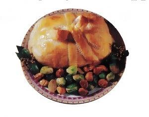 Χριστουγεννιάτικο γεύμα με μοσχαρίσιο νουά με σφολιάτα