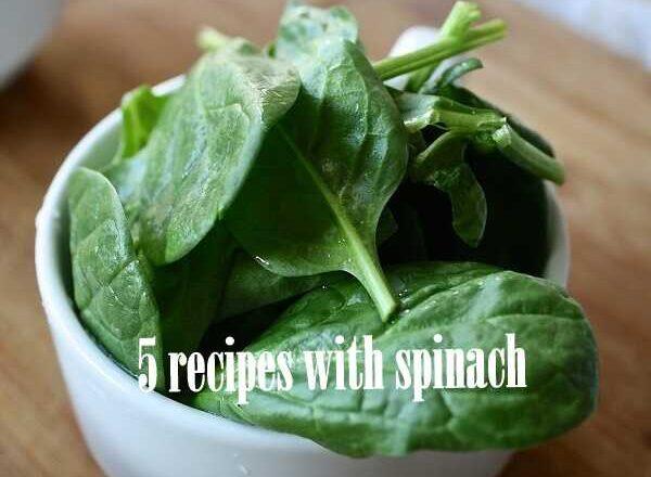 5 λαχταριστές συνταγές με σπανάκι!