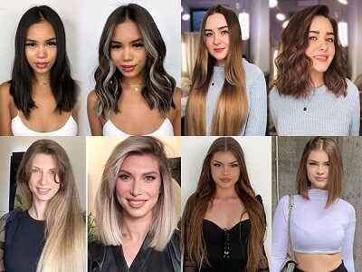 Κούρεμα ανάλογα το χρώμα των μαλλιών